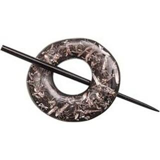 Black - Paradise Aluminum Shawl Pin
