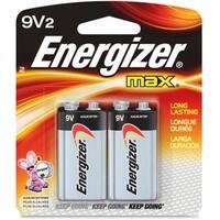 Energizer MAX Alkaline Batteries 9 Volt 2 Each