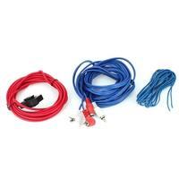 Unique Bargains Car Power Cable RCA Inline Fuse Holder Audio Speaker Amplifier Wiring Kit