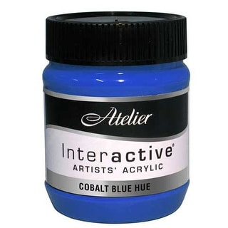 Chroma - Atelier Interactive Artists' Acrylic Color - 250ml Jar - French Ultramarine Blue