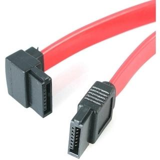 StarTech SATA12LA1 StarTech.com 12in SATA to Left Angle SATA Serial ATA Cable - SATA - SATA - 12 - Red