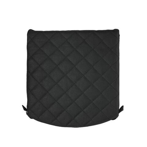 "Zuca Padded Seat Cushion (Black) - 13.2"" x 3"" x 12.35"""