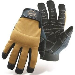 Boss 5206M Multi-Purpose Padded Knuckle Utility Gloves, Medium