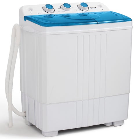Della Portable Small Compact Washing Machine 5KG Capacity with Spin Dryer