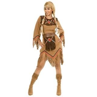 Women's Sacajawea Indian Maiden Costume