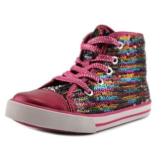 Nina Kids Bedelia Round Toe Suede Sneakers