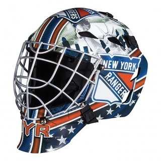 NY New York Rangers Full Size Youth Goalie Hockey Mask