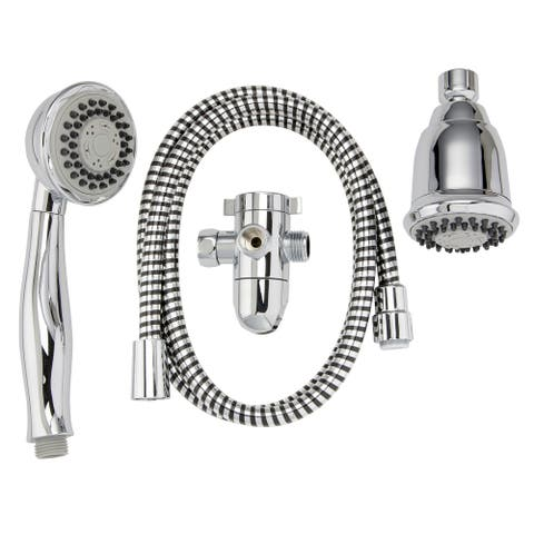 Keeney K750 Stylewise 3 Function, 3 Way Showerhead Kit - 3""