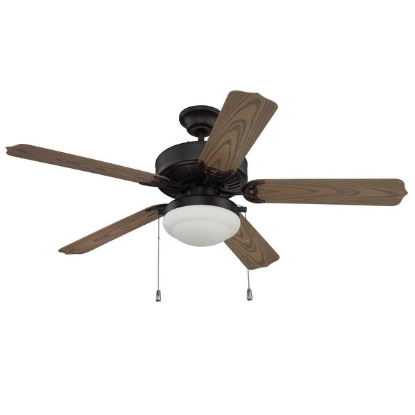 Craftmade End525pc1 Enduro 52 5 Blade Indoor Outdoor Dual Mount Ceiling Fan