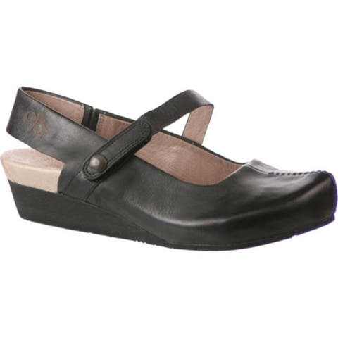 OTBT Women's Springfield 2 Black Leather