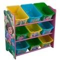 Dora the Explorer 9 Bin Toy Box Organizer by Delta - Thumbnail 0