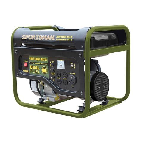 Offex 4000 Watt Dual Fuel Generator