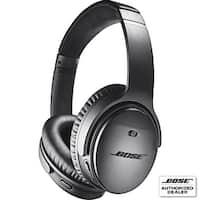 Bose - QuietComfort 35 Wireless Noise Cancelling Headphones II - Black