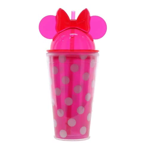 Disney Minnie Mouse Ear Polka Dot Tumbler - one size