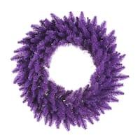 """36"""" Purple Wreath DuraL LED 100Prp 320T"""