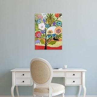 Easy Art Prints Karen Fields's 'Flower Tree II' Premium Canvas Art