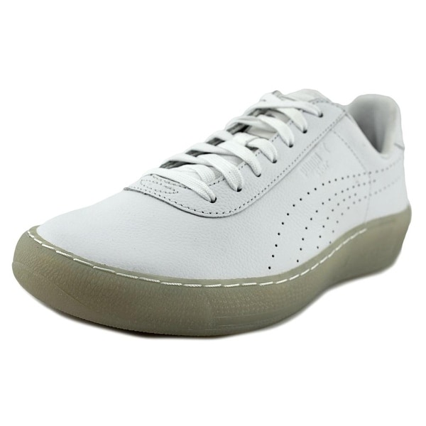 Puma Puma Star Men Round Toe Leather White Sneakers