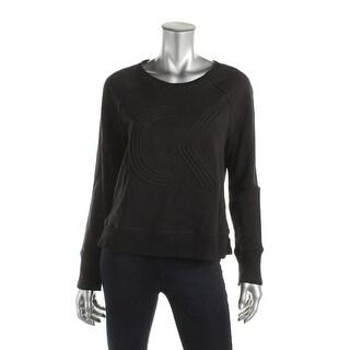 Calvin Klein Performance Womens Sweatshirt Long Sleeve Cropped