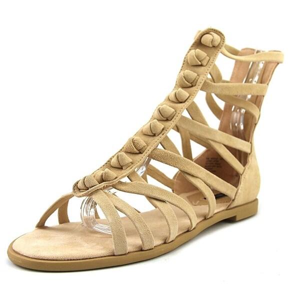 Kensie Macklin Women Open Toe Synthetic Nude Gladiator Sandal
