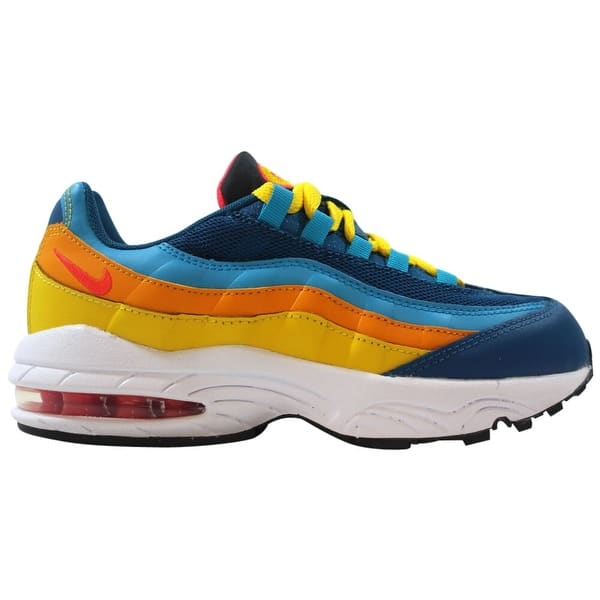 Saludo una vez líquido  Nike Air Max 95 PS Green Abyss/Flash Crimson CJ9990-300 Pre-School -  Overstock - 29884609