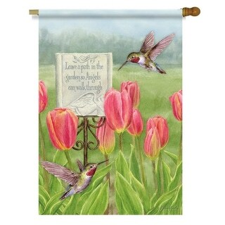Garden Path Outdoor Flag-Large - 28 x 40, Gardens by Lang Companies