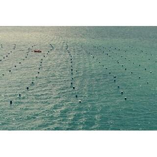 Water & Boat Photograph Art Print