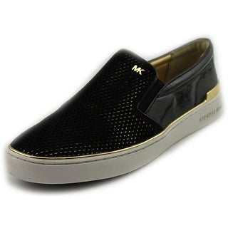 Michael Michael Kors Phoebe Slip On Women Suede Fashion Sneakers