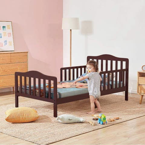 Wooden Baby Toddler Bed Children Bedroom Furniture