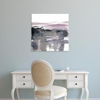 Easy Art Prints Jennifer Goldberger's 'Blush Plane I' Premium Canvas Art