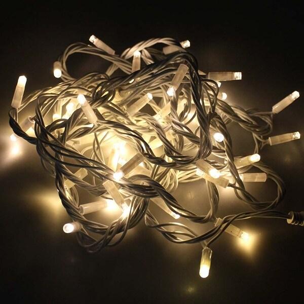 50LED Fairy String Light Waterproof Multiple Light String for Christmas Party _White