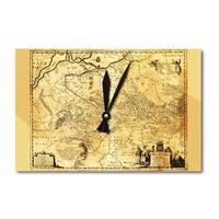 Ukraine - (1648) - Panoramic Map (Acrylic Wall Clock) - acrylic wall clock