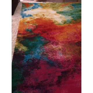 Safavieh Watercolor Virve Watercolor Modern Abstract Rug