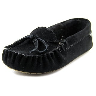 Bearpaw Astrid Women Round Toe Suede Black Slipper
