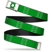 Green Lantern Logo Close Up Fcg White Green Chrome Green Lantern Logo Web Belt