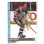 Geoff Smith Edmonton Oilers 1992 Opee Chee Autographed Card This item comes with a certificate of