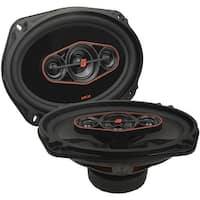 "Cerwin Vega Hed 6""X9"" 4-Way Coaxial Speaker Set - 440W Max / 65W Rms"