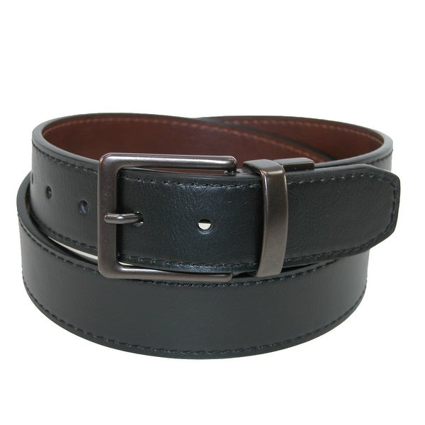 Levis Men's Reversible Belt with Dark Copper Buckle
