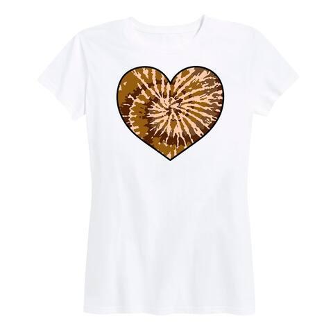 Skin Tone Tie Dye Heart - Women's Short Sleeve Classic Fit Tee