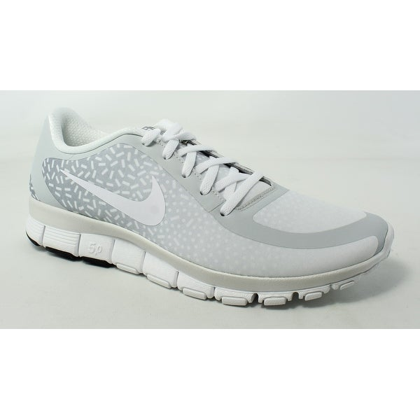 sneakers for cheap 2b409 8cc2e Nike Womens Free 5.0 V4 Ns Pt pureplatinum white white Running Shoes Size