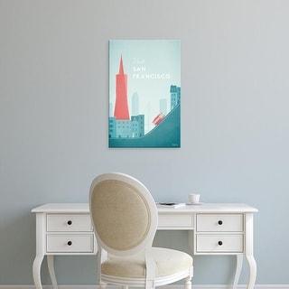 Easy Art Prints Henry Rivers's 'San Francisco' Premium Canvas Art
