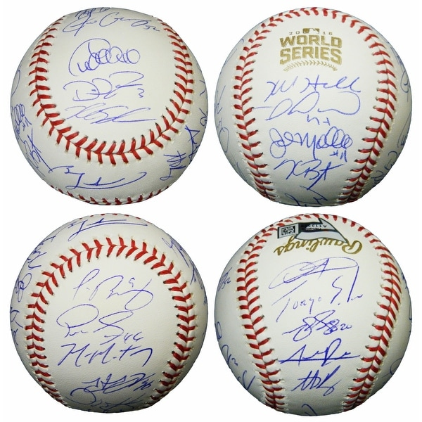 4a3133456dc Shop 2016 Chicago Cubs Team Rawlings Official 2016 World Series Baseball 23  Sigs - Free Shipping Today - Overstock - 17974747