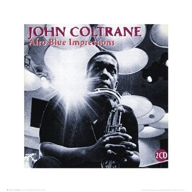 ''John Coltrane: Afro Blue Impressions'' by Anon Music Art Print (16 x 16 in.)