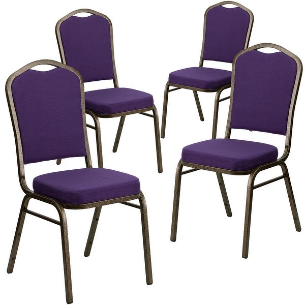 4 Pack Crown Back Stacking Banquet Chair. Opens flyout.