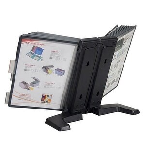 Aidata FF-1020L 5 Panel Weighted Desktop Reference Organizer