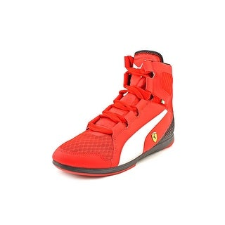 Puma Valorosso Mid SF WebCage Men Round Toe Synthetic Red Sneakers