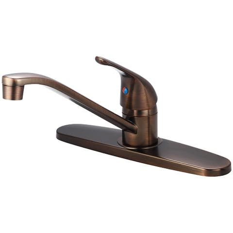 Olympia Faucets K-4160 Elite 1.5 GPM Widespread Kitchen Faucet with