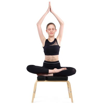 Yoga Headstand Bench with PVC Pads Yoga Inversion Trainer