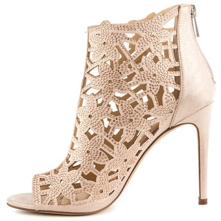 Jessica Simpson Womens Gessina Open Toe Ankle Fashion Boots Fashion Boots