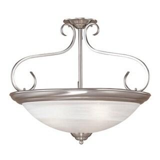 Millennium Lighting 9033 3 Light Semi-Flush Ceiling Fixture