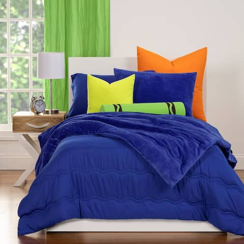Crayola Playful Plush 3-piece Comforter Set